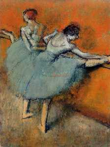 Edgar Degas - Dancers at the Barre 1