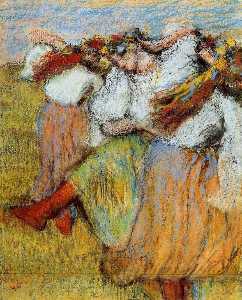 Edgar Degas - Russian Dancers 3
