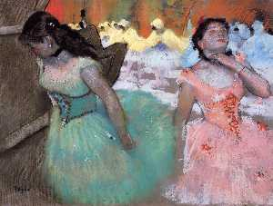 Edgar Degas - The Entrance of the Maske..