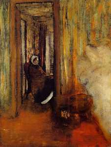 Edgar Degas - Nurse