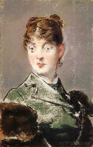 Edouard Manet - Parisienne, Portrait of Madame Jules Guillemet