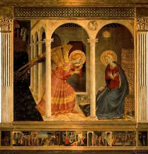 Fra Angelico - Annunciation 1