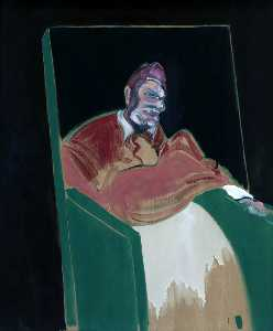 Francis Bacon - Study for a Pope VI