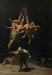 Francisco De Goya - Flight of the witches