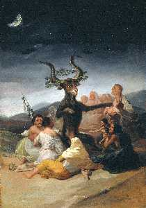 Francisco De Goya - Witches' sabbath 1