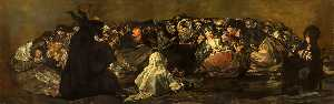 Francisco De Goya - Witches' sabbath