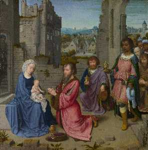 Gerard David - The Adoration of the King..