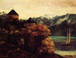 Gustave Courbet - The Chateau de Chillon
