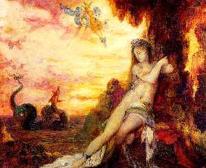 Gustave Moreau - Perseus and Andromeda 1