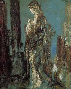 Gustave Moreau - Study of Helen