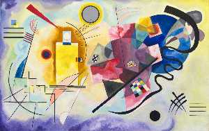 Wassily Kandinsky - Yellow - Red - Blue