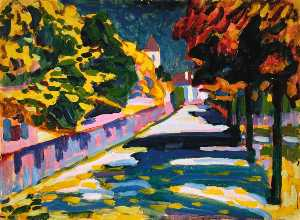 Wassily Kandinsky - Autumn in Bavaria