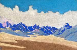 Nicholas Roerich - Karakoram. Path to Turkestan