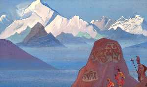 Nicholas Roerich - Path to Kailas 4