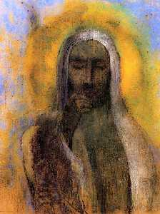 Odilon Redon - Christ in Silence