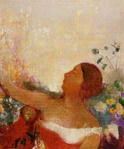 Odilon Redon - Predistined Child