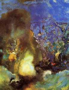 Odilon Redon - Roger And Angelica 1