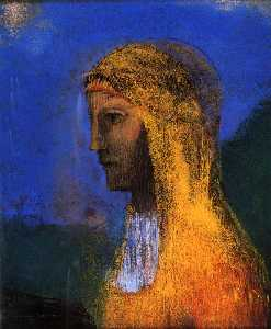 Odilon Redon - The Druidess