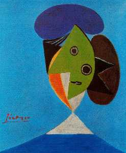 Pablo Picasso - Bust of a woman