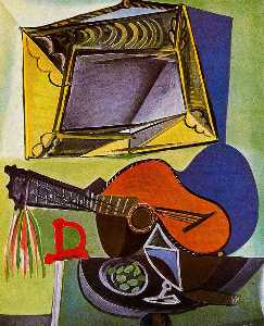 Pablo Picasso - Still life with Guitar