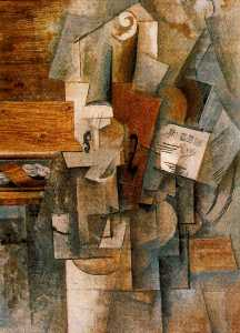 Pablo Picasso - The violin