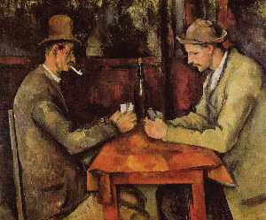 Paul Cezanne - Cardplayers