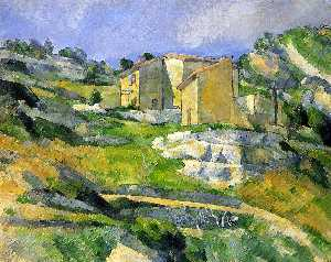 Paul Cezanne - Houses in Provence - the Riaux Valley near L-Estaque