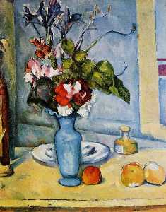 Paul Cezanne - The Blue Vase 1