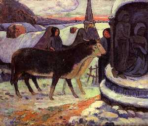 Paul Gauguin - Christmas night