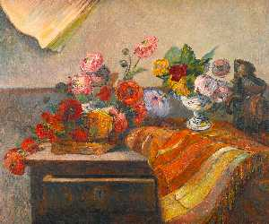 Paul Gauguin - Pots and Bouquets