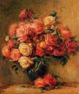 Pierre-Auguste Renoir - Bouquet of Roses 1