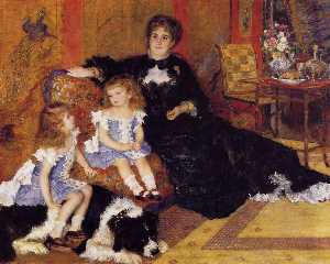 Pierre-Auguste Renoir - Madame Georges Charpentier and her Children