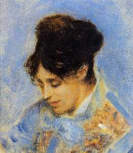 Pierre-Auguste Renoir - Portrait of Madame Claude Monet