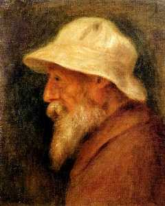 Pierre-Auguste Renoir - Self-Portrait with a White Hat