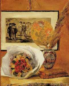Pierre-Auguste Renoir - Still Life with Bouquet