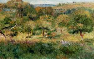 Pierre-Auguste Renoir - The Edge of the Forest in Brittany