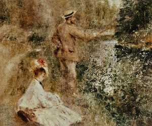 Pierre-Auguste Renoir - The Fisherman