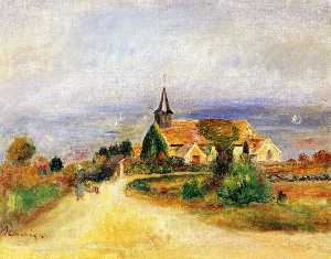 Pierre-Auguste Renoir - Village by the Sea