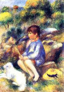 Pierre-Auguste Renoir - Young Boy by the River