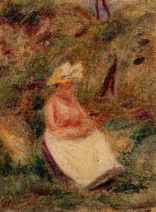 Pierre-Auguste Renoir - Young Girl in the Woods