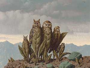 Rene Magritte - The companions of fear