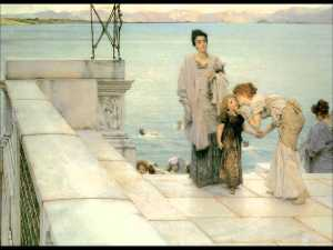 Lawrence Alma-Tadema - A Kiss