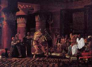 Lawrence Alma-Tadema - Pastimes in Ancient Egypt, 3,000 Years Ago