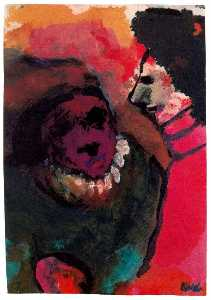 Emile Nolde - Comical Figures