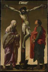 Hendrick Terbrugghen - The Crucifixion with the ..