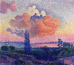 Henri Edmond Cross - The Pink Cloud
