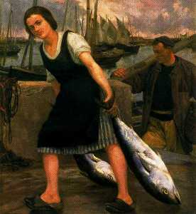 Ignacio Díaz Olano - The fisherman-s daughter