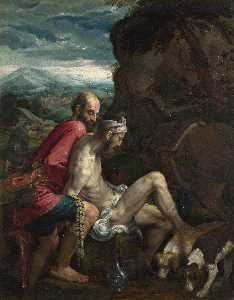 Jacopo Bassano (Jacopo Da.. - The Good Samaritan