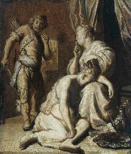 Jan Andrea Lievens - Samson and Delilah 1