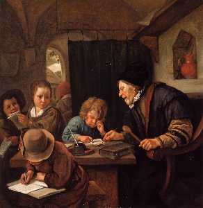 Jan Steen - The Severe Teacher